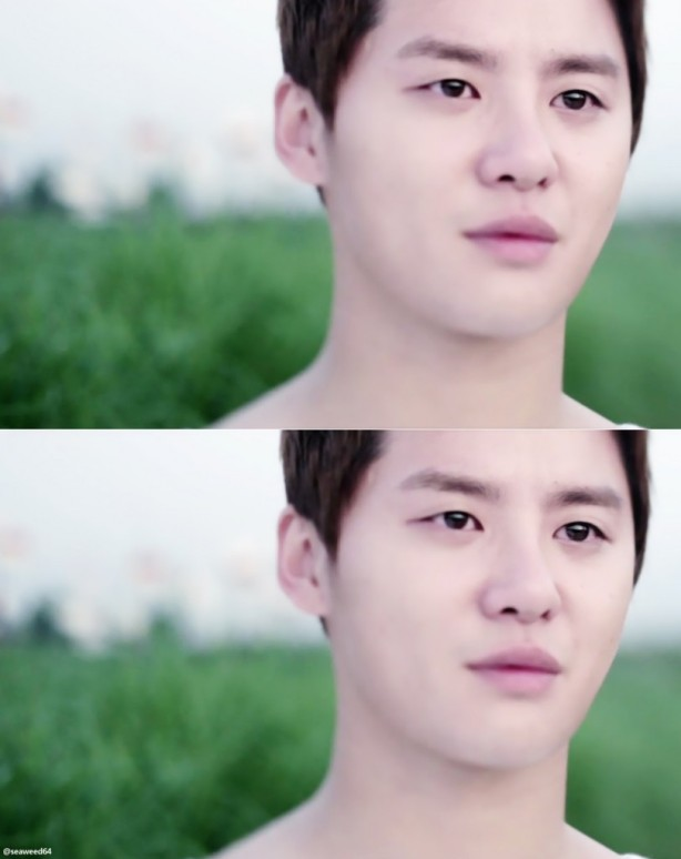 """kim junsu in """"in heaven"""""""